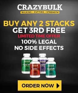 Crazy Bulk bodybuilding supplements stacks