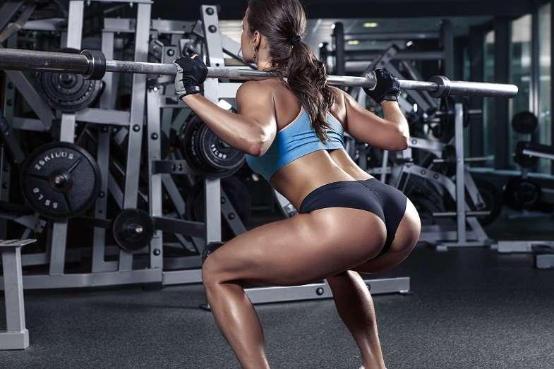 Dumbbell leg exercises - squats
