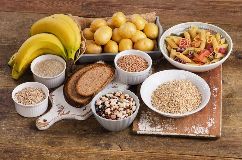 Carbohydrates in muscle gain diet