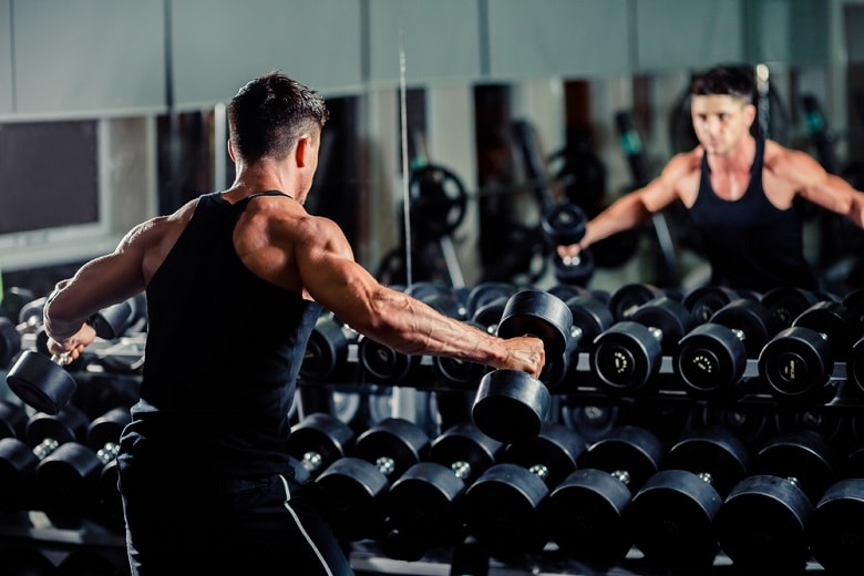 Crossfit dumbbell workouts are popular